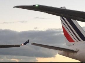 Air France-collision avec Aerolineas argentinas