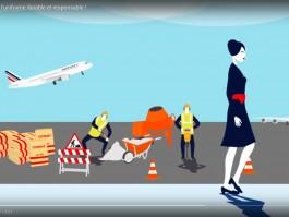 Air France uniforme ecologie