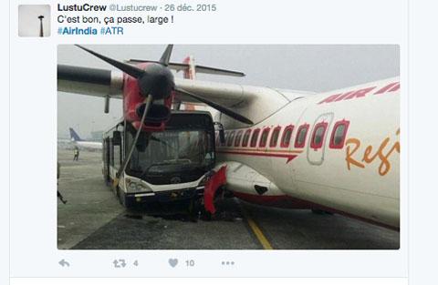 Air-Journal-bus accident ATR 42 Air India