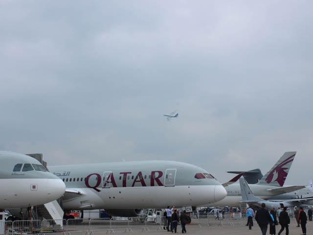 Air-Journal_Qatar Airways et A380 Airbus_bourget