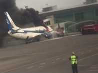 Air-journal-737 incendie Kazakstan