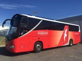 Air-journal-Air Arabia- bus Montpellier