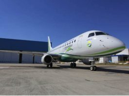 Air-journal-Eco demonstrator Embraer