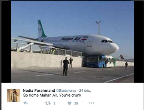 Air-journal-Go home Mahan Air
