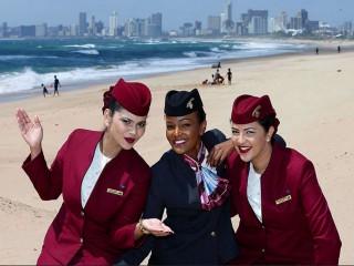 Air-journal-Hotesses Qatar Airways-durban