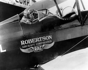 Air-journal-Lindbergh_Robertson biplan DH4 aircraft