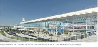 Air-journal-Orly-Nouveau batiment de jonction-vue ext©groupe ADP