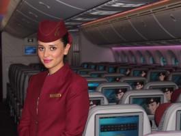 qatar airways hotesse