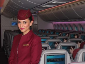 Air-journal-Qatar airways_hotesse de lair