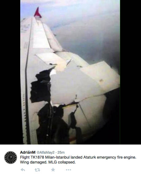 Air-journal-TK1878 incident reacteur