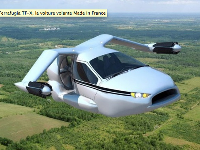 la voiture avion de demain vid o air journal. Black Bedroom Furniture Sets. Home Design Ideas