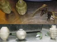 Air-journal-grenade-arme à feu-TSA