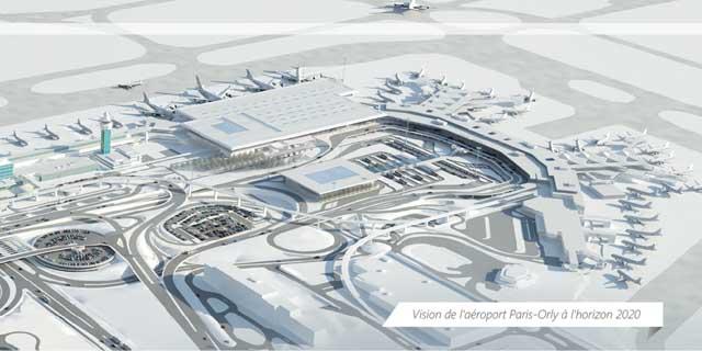 plan aeroport orly sud