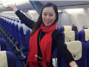 Air-journal-passagere Zang Weibo