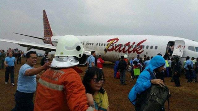 Air-journal-sortie 737 Batik Air-Java
