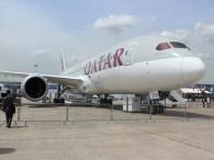 Air-journal_787 Qatar Airways_bourget