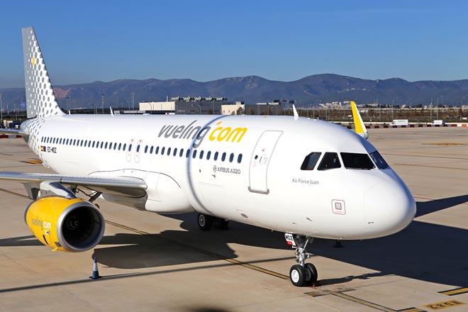 Vueling reçoit le 1er A320 d'une commande de 120 monocouloirs