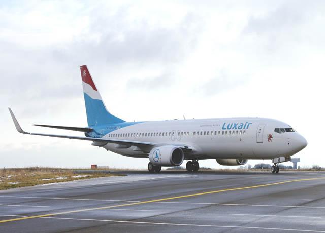 Luxair accueille un nouveau boeing 737 800 air journal for Interieur 737