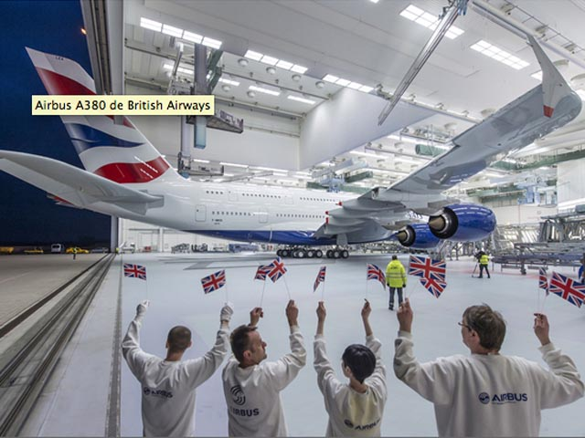 British airways tient son premier airbus a380 air journal for Compagnie aerienne americaine vol interieur