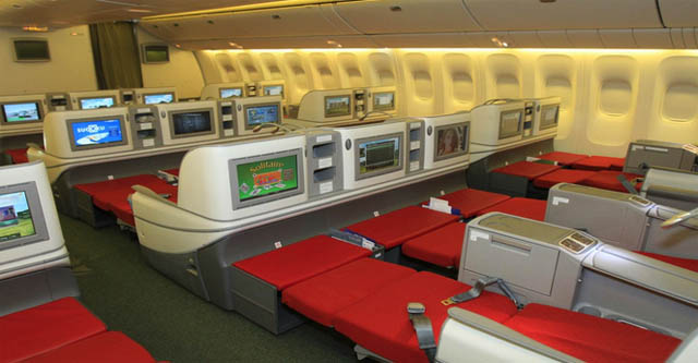 Air-journal_Class Affaires Ethiopian Airlines