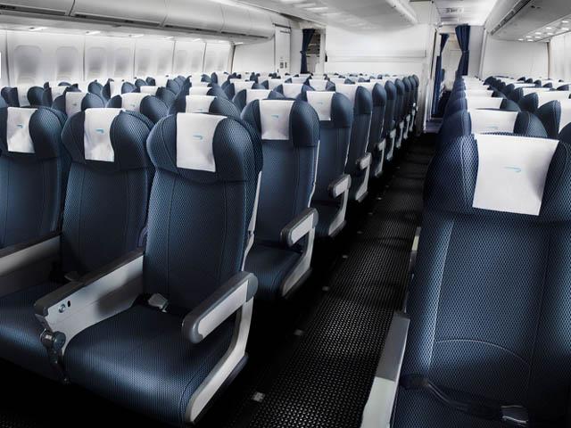 British airways rafra chit la cabine de certains b747 400 for Interieur 747