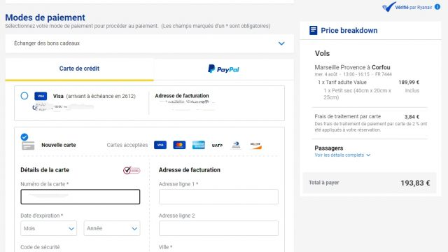 Ryanair changes ticket prices based on bank card 2 Air Journal