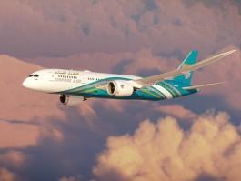 Oman Air 787-8 vol