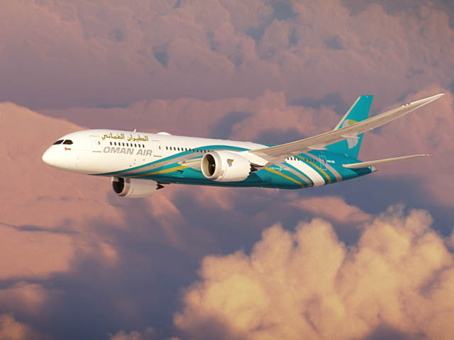 Oman Air 787-8 vol