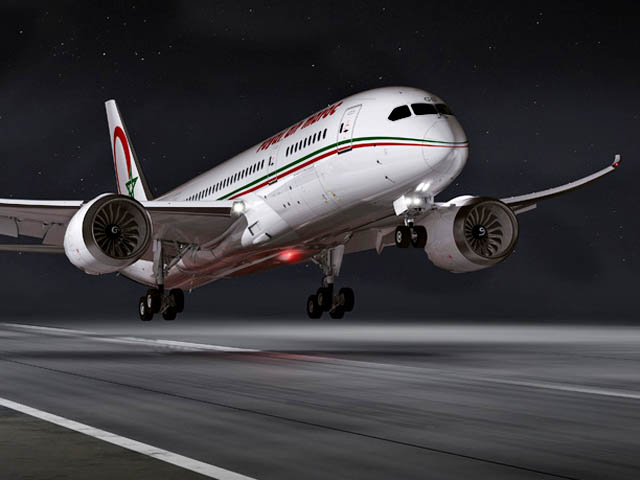 Royal air maroc se pose washington air journal for Vol interieur bresil pas cher