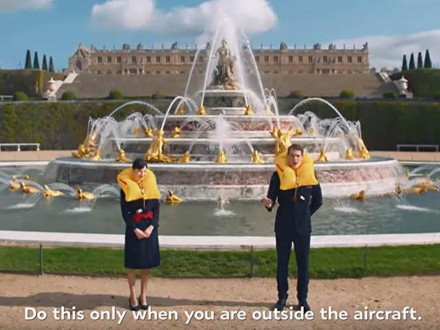 Air France : un film de consignes de sécurité très haut de gamme (vidéo) - Air-Journal