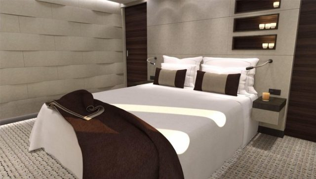 air-journal Boeing Business Jet 787-8-chambre