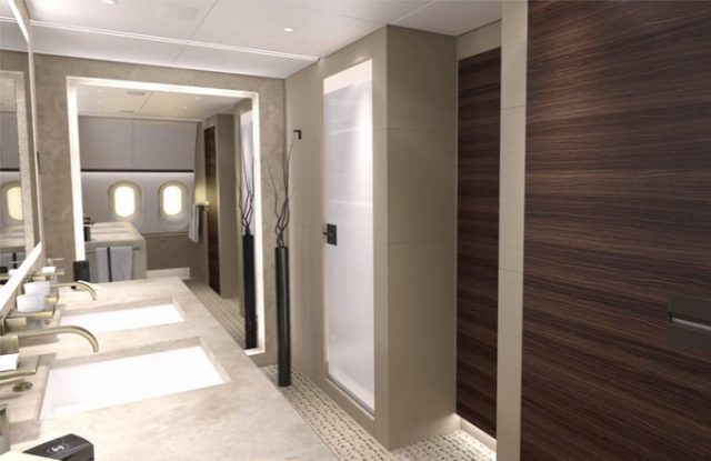air-journal Boeing Business Jet 787-8-salle de bain
