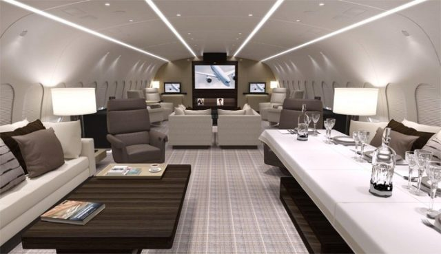 air-journal Boeing Business Jet 787-8-salon