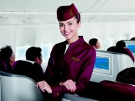 air-journal Qatar Airways- hotesse