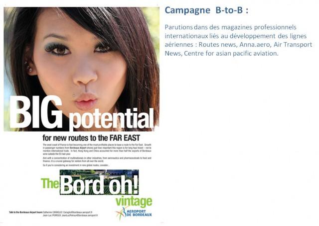air journal aeroport bordeaux pub chinoise 2 640x455 Aéroport de Bordeaux mise sur le trafic passager chinois