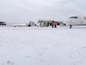 air-journal aeroport new york jfk neige avion delta