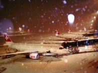 air-journal aeroport zurich swiss neige hiver