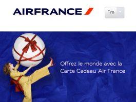 carte cadeau air france Air France : ouvrez une cagnotte pour offrir un voyage à un proche