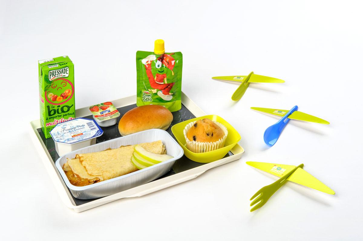 Air journal air france plateau repas enfants air journal - Plateau repas enfant ...