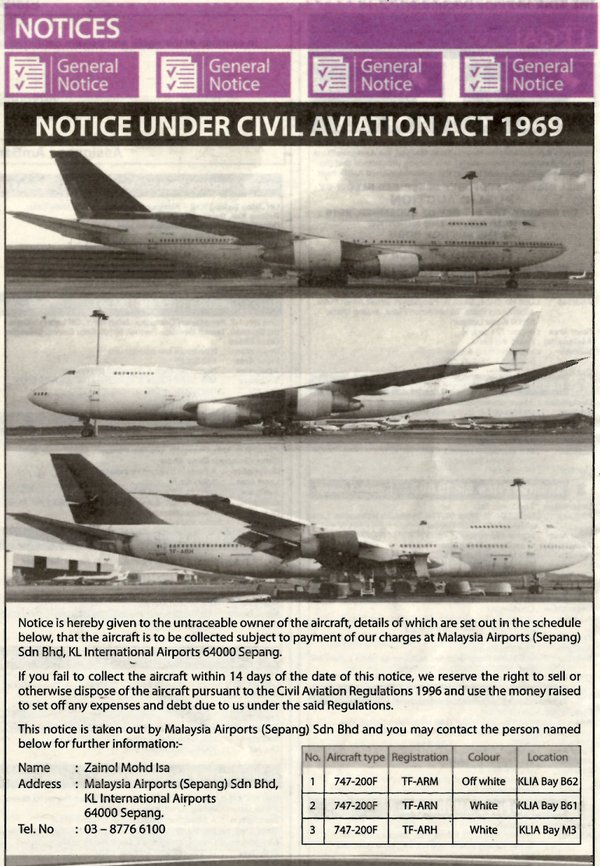 air-journal boeing 747 cargo kuala lumpur
