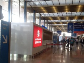 air-journal comptoir Air Algerie - orly sud