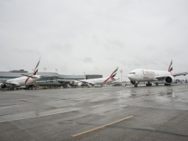 Emirates triple delivery events August 31st