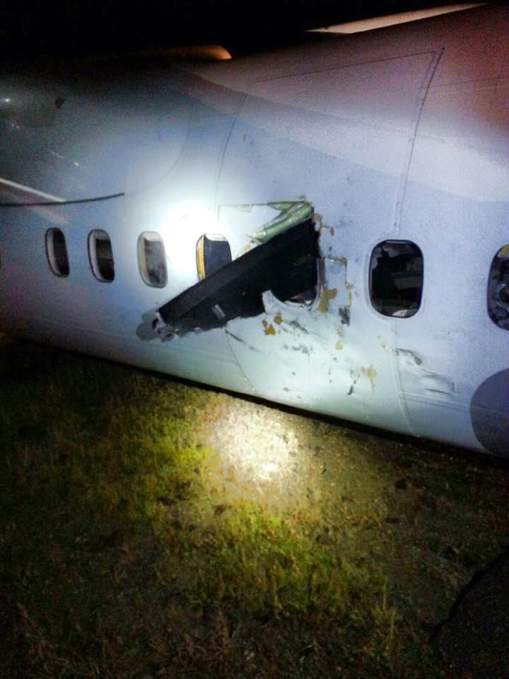 Air Canada Express Atterrissage D Urgence D Un