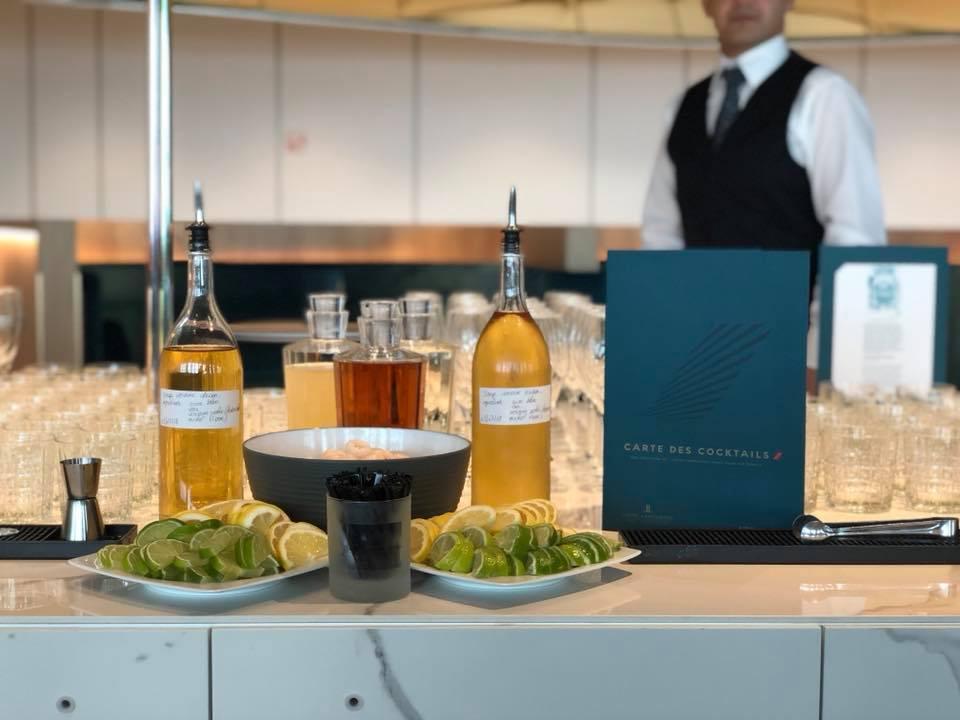 Air journal lounge salon bar air france alcool vin for Salon vin paris