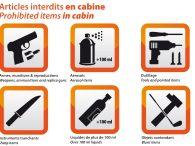 air-journal objets interdits en cabine