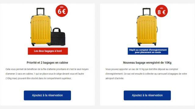 Ryanair n'autorisera plus à partir du 1er novembre les bagages à main de 10 kg en cabine. dans Actualité compagnies aériennes. air-journal-ryanair-babage-de-cabine-640x360