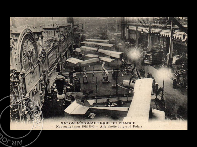 Le 2 janvier 1912 dans le ciel fin du 3e salon for Salon aeronautique