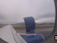 air-journal sky airlines incident panneu moteur