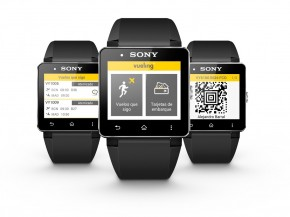 air-journal vueling sony smartwatch montre