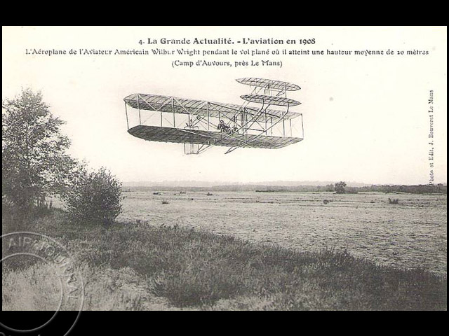 air journal wilbur wrigh vol le mans 1908 air journal. Black Bedroom Furniture Sets. Home Design Ideas